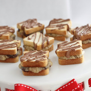 Itty Bitty Chocolate Chip Cookie-wiches.