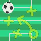 Tácticas de fútbol tablero icon