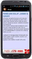 Screenshot of PANDUAN SOLAT JAMAK & QASAR