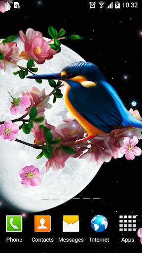 mod Sakura and Bird Live Wallpaper 1.0.7 screenshots 1