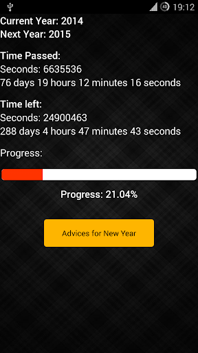 New Year Timer