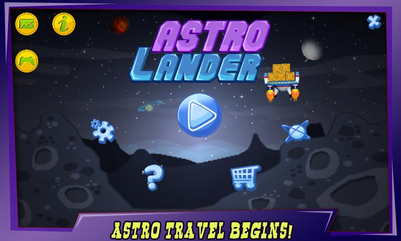 Astro Lander - screenshot