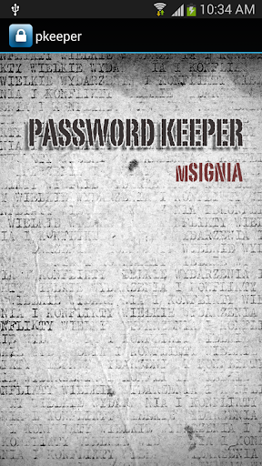 Secure Password Keeper