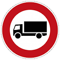 LKW restrictions - Europe icon