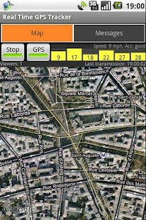 Real Time GPS Tracker - screenshot thumbnail