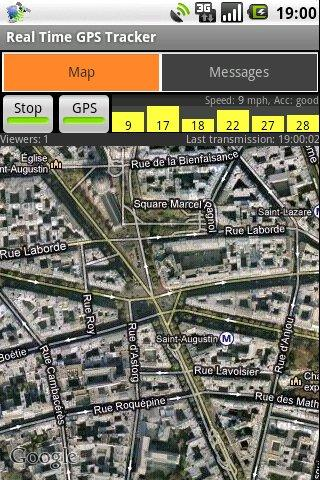 Real-Time GPS Tracker- screenshot