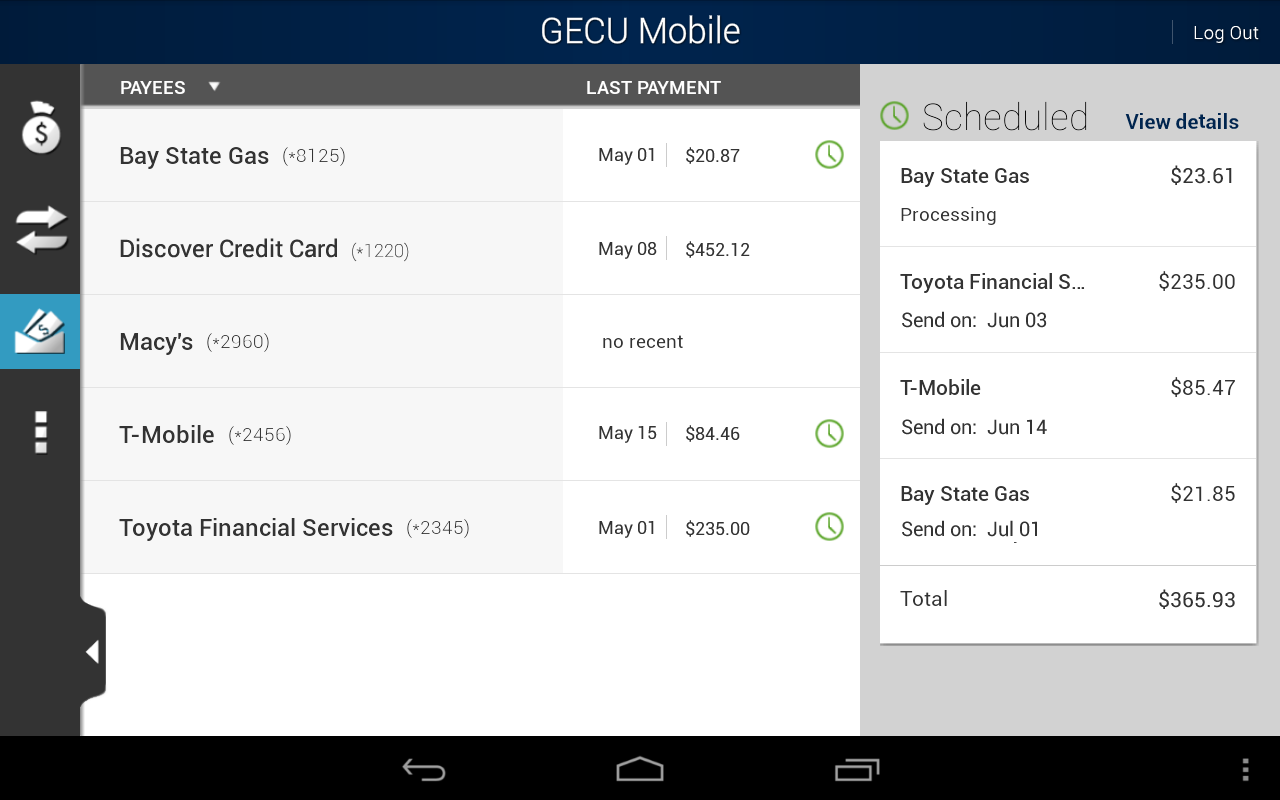 GECU Mobile - screenshot