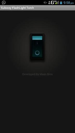 玩生產應用App Subway Flashlight Torch免費 APP試玩