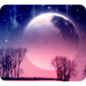 Beautiful Moon Wallpaper icon