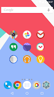 Screenshot of FlatDroid - Icon Pack