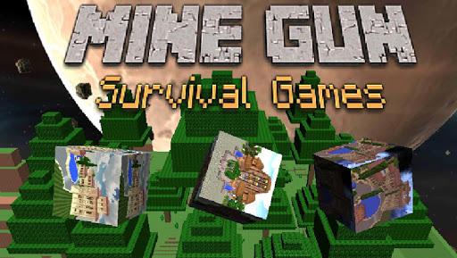 Mine Gun Craft Survival Games
