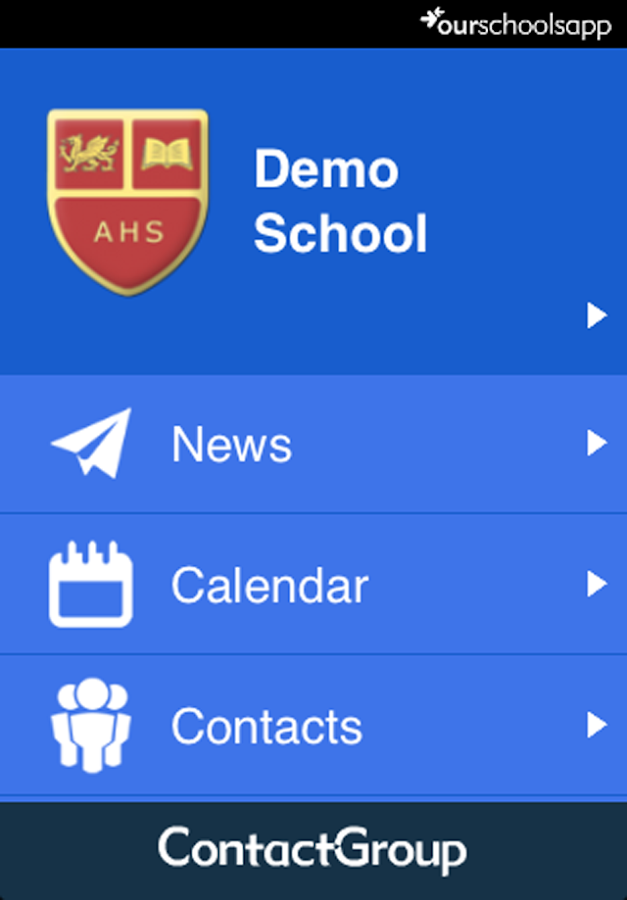 OurSchoolsApp- screenshot