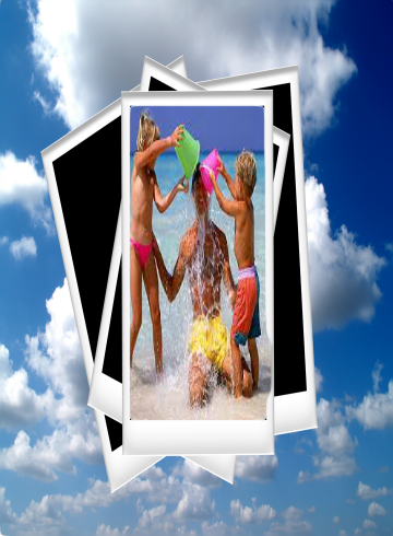 Vacation Photos Frames