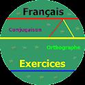 Exercices  de français logo