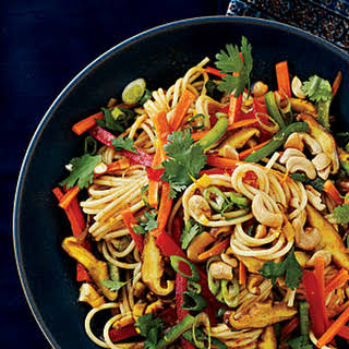 Curry-Spiced Noodles.