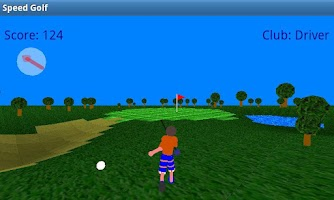 Screenshot of Speed Golf Lite