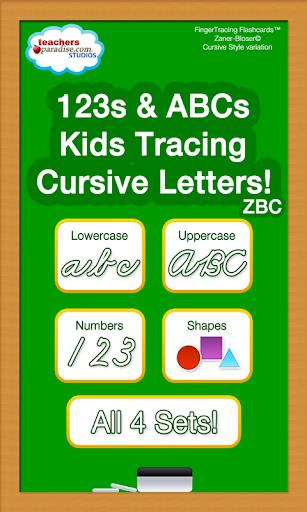 ABCs Kids Tracing Cursive ZBC