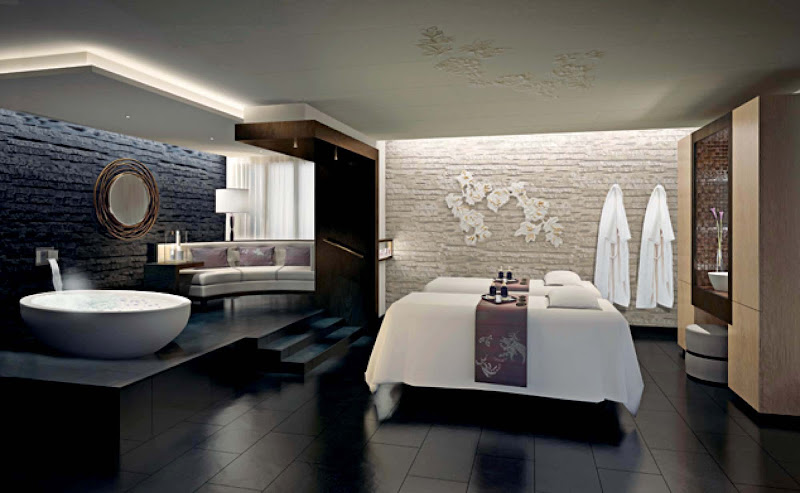 A body wrap, facial, massage and body therapy are among the treatments offered at Lotus Spa on Princess ships.