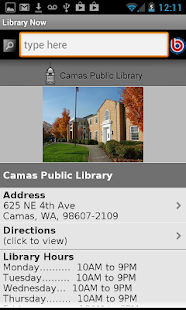 Washington State Library Now - screenshot thumbnail