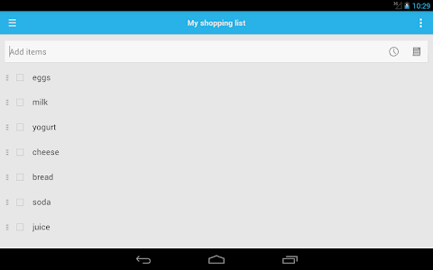 Shopping List screenshot 8