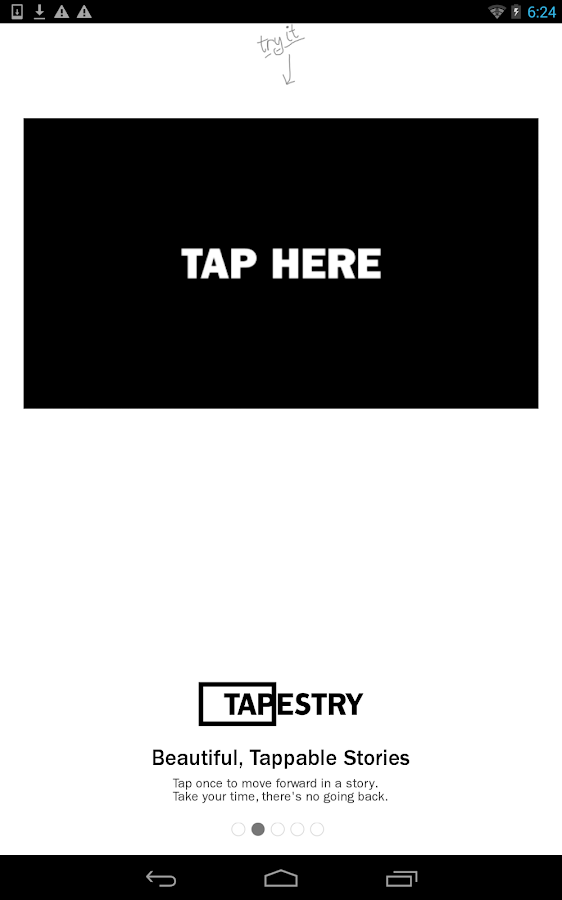 Tapestry: Tappable Stories - screenshot