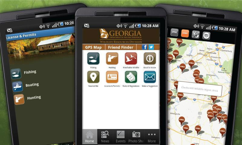 GA Fish & Wildlife Guide- screenshot