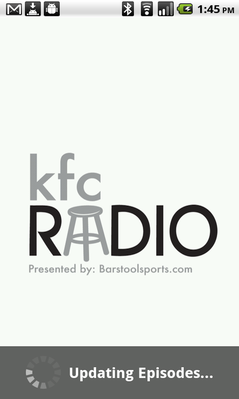 KFC Radio - screenshot