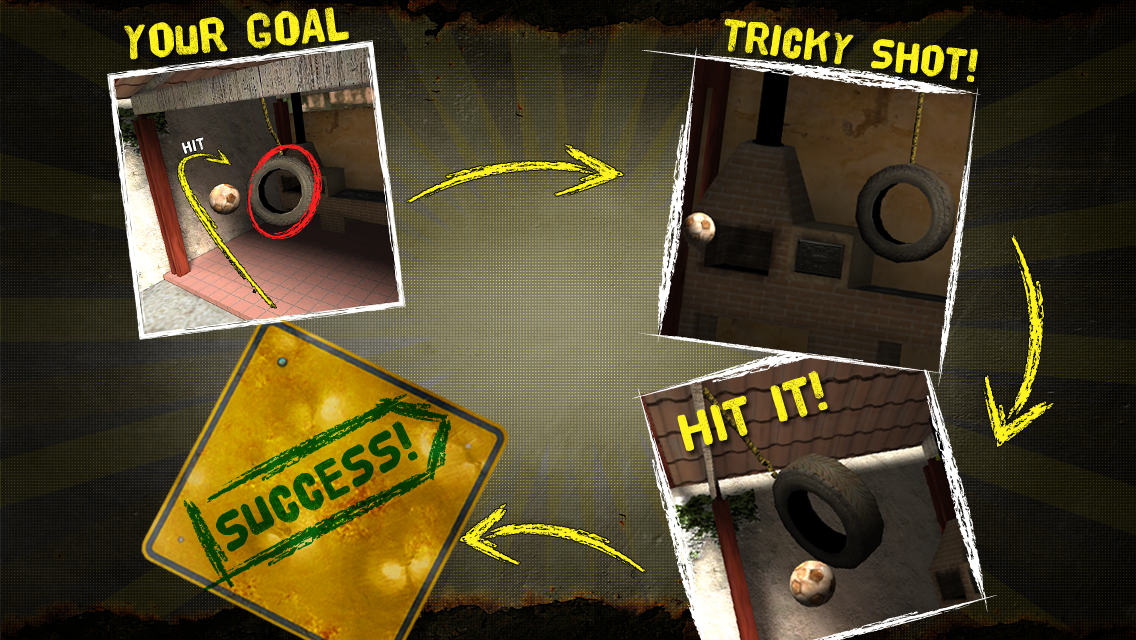 Tricky Shot Soccer (Football)- screenshot