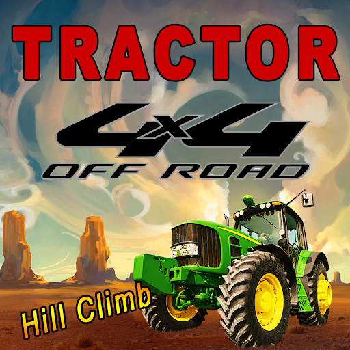 Monster Tractor 4x4 Hill Climb
