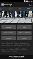Screenshot of Evangel Assembly of God