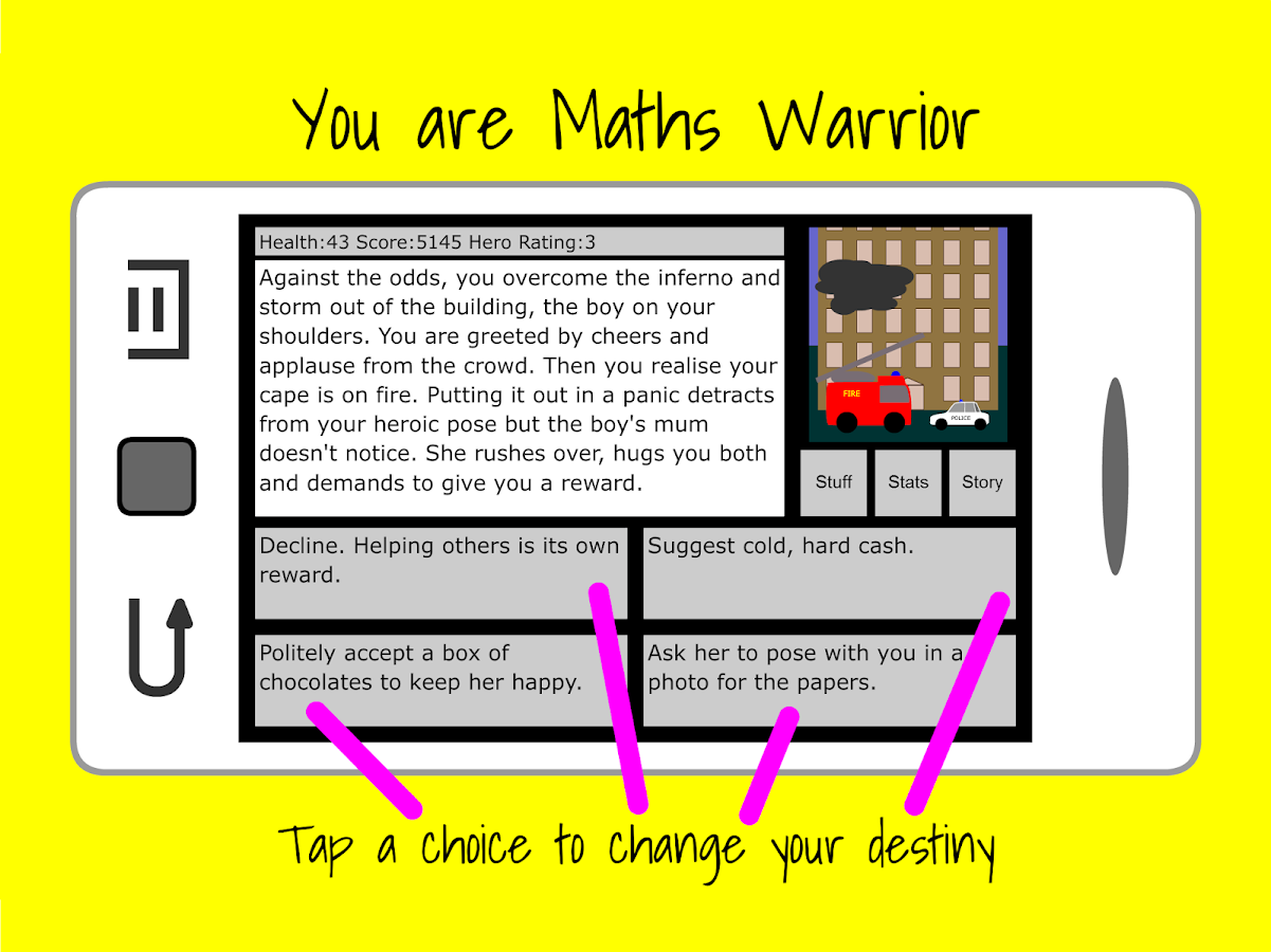 Maths Warrior- screenshot