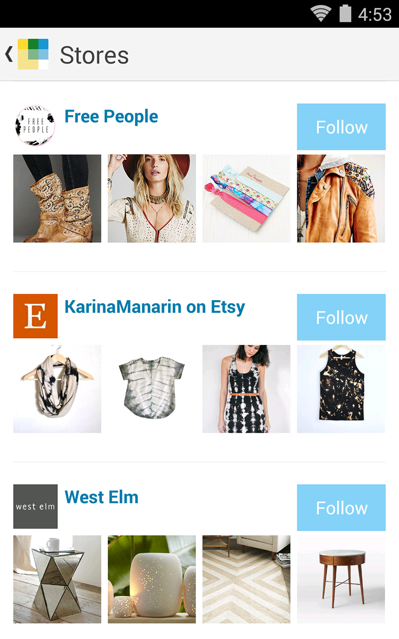 Wanelo Shopping screenshot #2