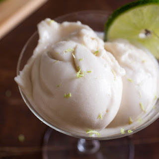 Vegan Coconut, Lime, and Rum Ice Cream
