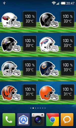 【免費運動App】NFL Battery Widget-APP點子