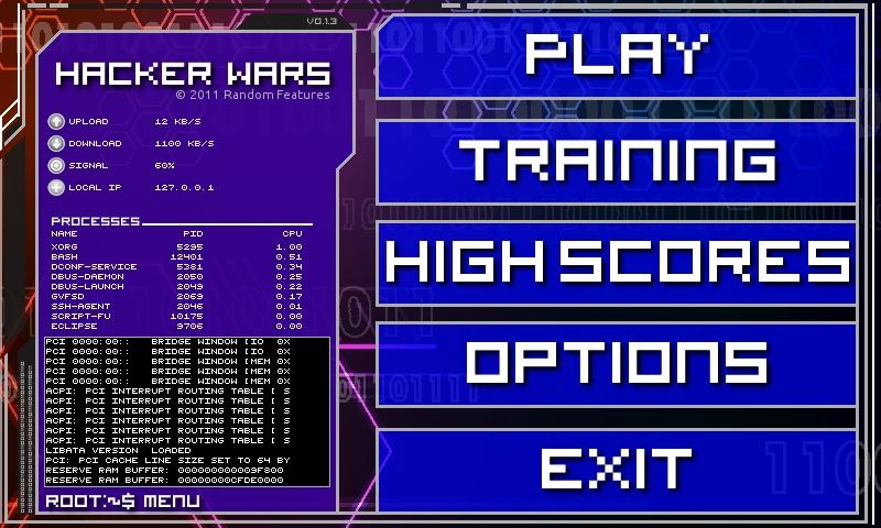 Hacker Wars Free- screenshot
