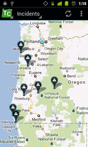 Oregon Trip Checker Free Screenshot