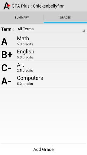 【免費教育App】GPA Plus (Free)-APP點子