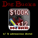 Dog Bucks – 100K + 12 Adrln logo
