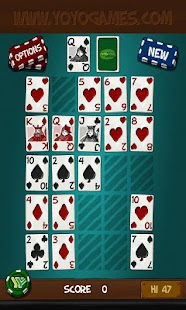 Simply Poker Squares Free - screenshot thumbnail
