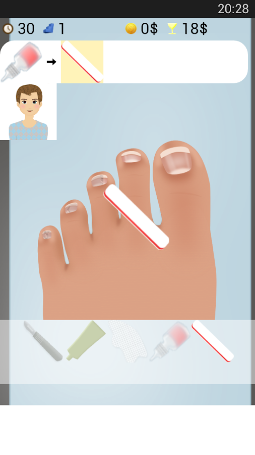Nail Doctor Games - screenshot