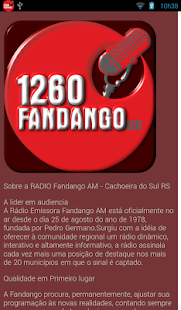 RADIO FANDANGO AM: miniatura da captura de tela