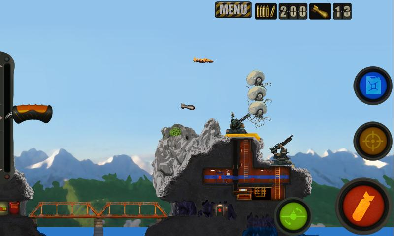 Red Baron Project alpha demo - screenshot