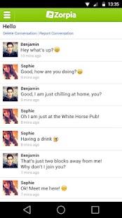 Zorpia - Meet New People! - screenshot thumbnail
