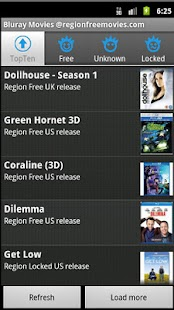 Bluray Movies Region Coding - screenshot thumbnail