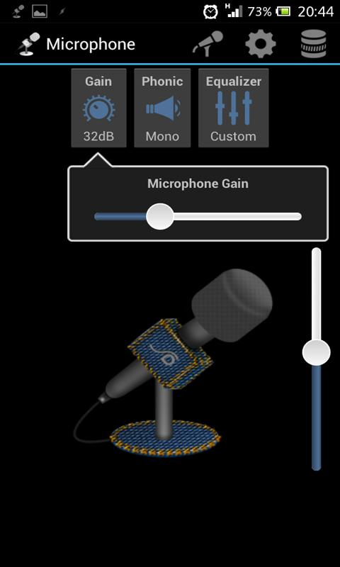 Microphone- screenshot