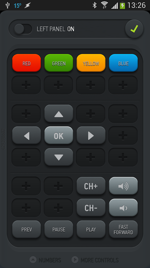 Smart IR Remote for HTC One - screenshot