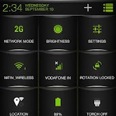 Green Fire Theme CM11/AOSP/PA
