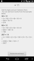 Screenshot of Mental Math Free