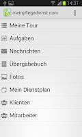Screenshot of meinpflegedienst.com