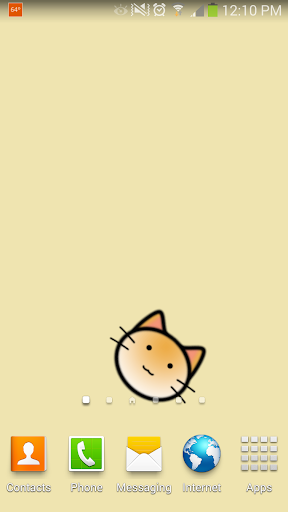 Rolling Cat Live Wallpaper